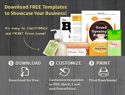 Download FREE Templates to Showcase Your Business!